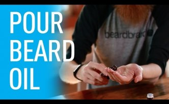 How To Pour Beard Oil | Beardbrand