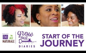 Dark and Lovely Au Naturale Grow Out Diaries | Follow the Journey