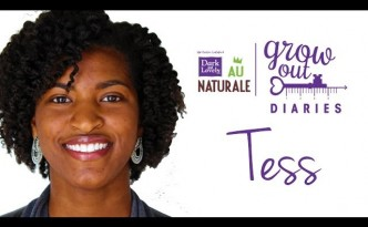 Meet Tess | Dark and Lovely Au Naturale Grow Out Diaries