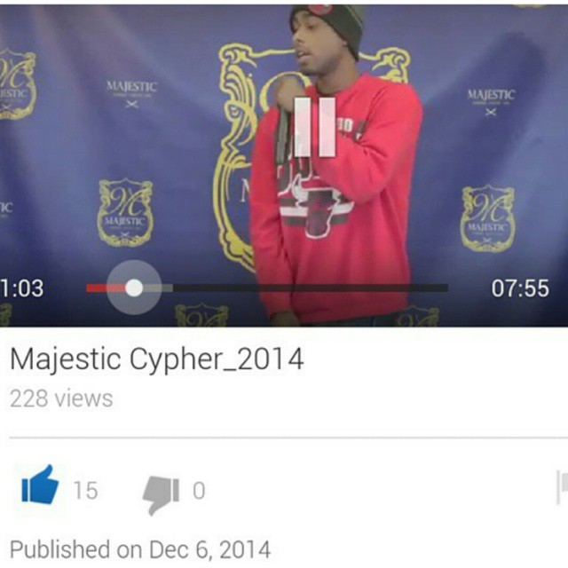 Find us on YouTube. Majestic cypher_2014