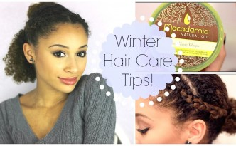 8 Winter Hair Care Tips for Women