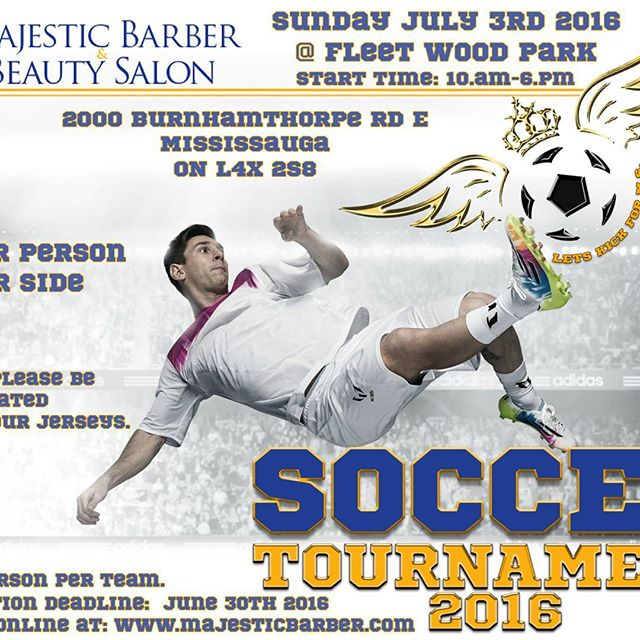 Today is the day. Let's kick for MS. Please come out and support a great cause. 2000 Burnhamthorpe E. Soccer all day.